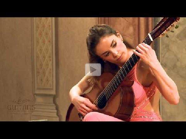 Ana Vidovic - Recuerdos de la Alhambra by Francisco Tárrega