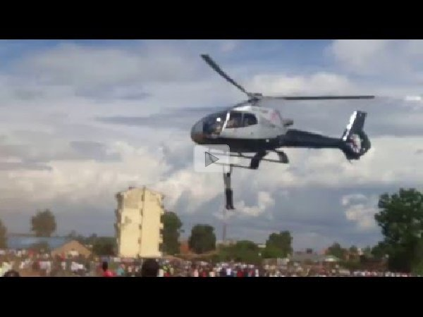Image result for man hangs on helicopter jacob juma