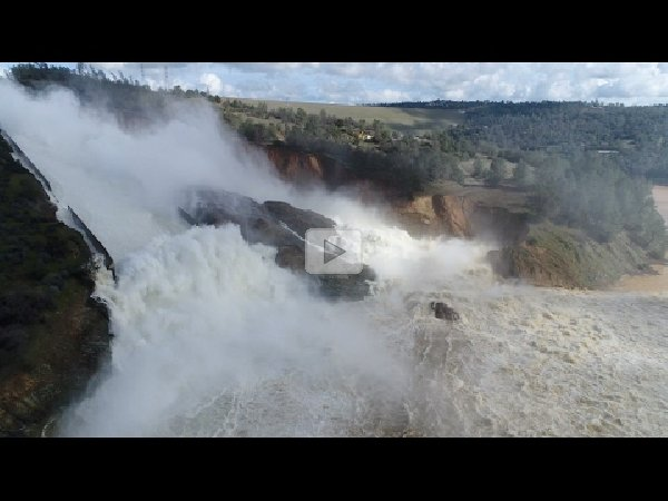 Lake Oroville Top Spillway Camera