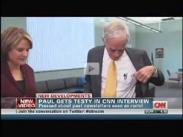 ron paul walks out of cnn interview