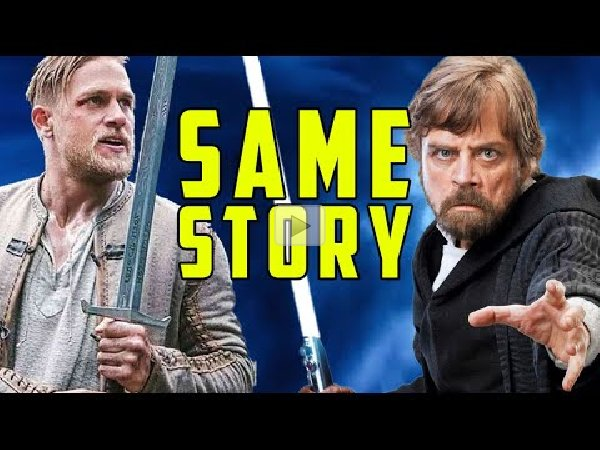 Star Wars Secret King Arthur Symbolism