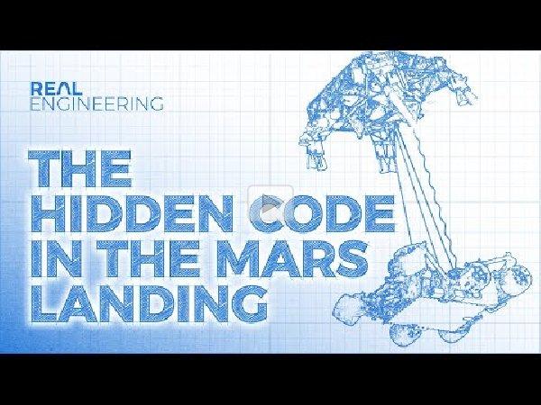 The Hidden Code in the Mars Landing
