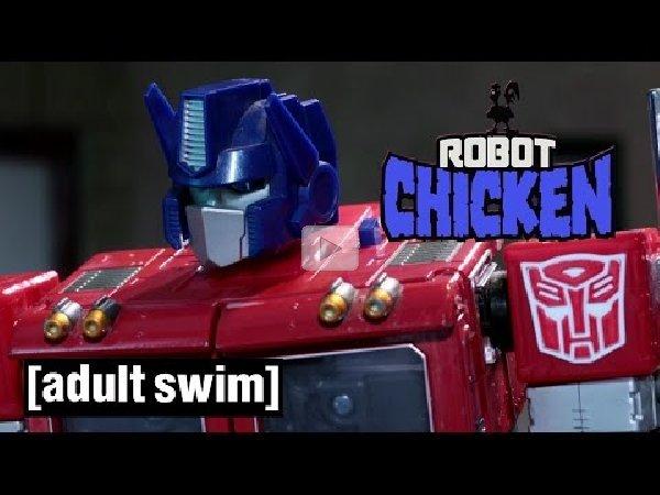 Robot chicken adult